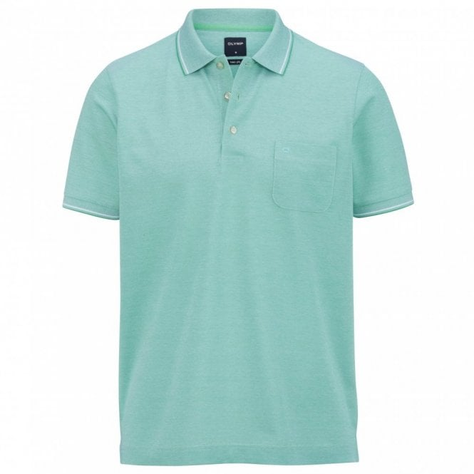 Olymp two ply polo shirt - Green
