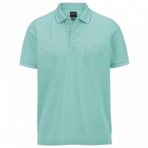 two ply polo shirt - Green