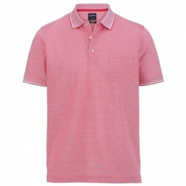 two ply polo shirt - Pink