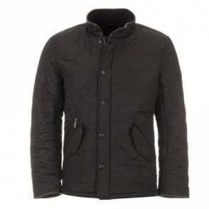 Powell Quilted Jacket - Black