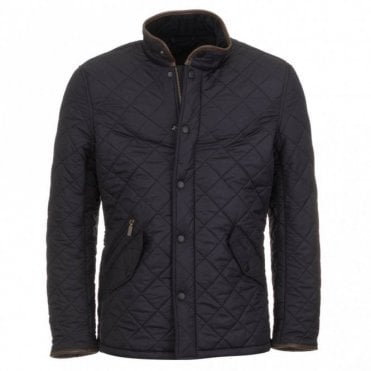 Powell Quilted Jacket - Navy