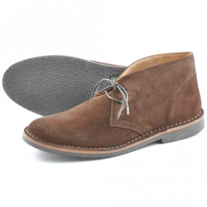 Loake Sahara Desert Boot - Brown