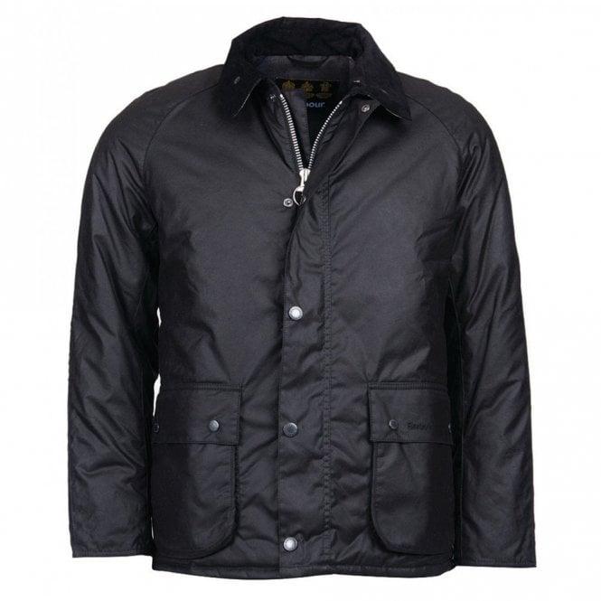 Barbour Strathyre Wax Jacket - Black